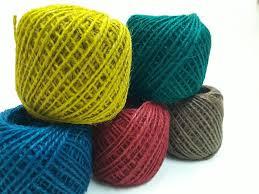 comprar hilos de yute con variedad de colores