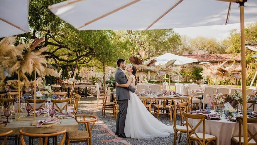 Artículos de yute para bodas